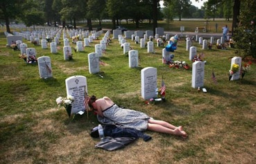 Hundreds of thousands of Americans have given their lives for the sake of freedom